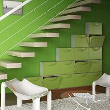 Terry Contenitore Home Storage Harmony Box H Verde/grigio Scarpiera L51 x P39