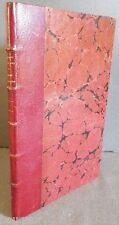 HANS HOLBEIN - Alphabet de la Mort - Reliure signée 1/2 Maroquin de GRUEL 1856