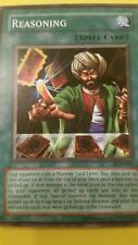 3x Reasoning PGD-081 1st Edition & Unlimited Lightly Played/Nm Yu-Gi-Oh! playset