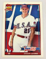 1992 Topps Traded Jason Giambi #45T Rookie Card RC NM+