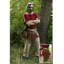 Roman Belt with 5 Leather Protective Plates Ideal Re-enactment,Costume & LARP