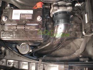 Black 2pc Cold Air Intake Kit For 99-05 Pontiac Grand AM 3.4L V6 GT GT1 SE1 SE2