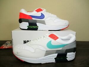 Nike Air Max 1 Evolution Of Icons Men's Shoes White/Multicolor Sz 9.5 CW6541-100