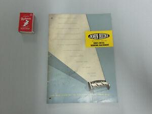 JOHN HEINE SHEET METAL WORKING MACHINERY CATALOGUE  BULLETIN N 27pp C.1972