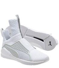 Authentic Puma & Rihanna Fenty Trainer Whiteout Sneakers 189695 - 02, Sz 6 NIB