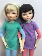 "MIM Doll Make It Mine Ball Jointed 17""- Haley & Taylor  Set Of 2 Dolls BJD"