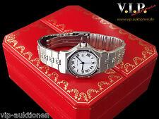 Cartier Santos MONTRE Ronde Orologio Orologio Uomo CASIO Acciaio Automatico Unisex Watch