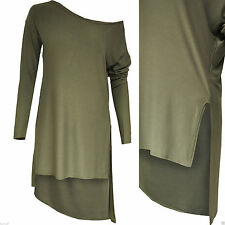 Viscose One Shoulder Patternless Other Women's Tops