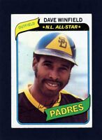 1980 Topps Dave Winfield N.L. All-Star #230                 A510