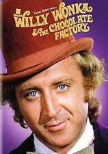 WILLY WONKA AND THE CHOCOLATE FACTORY USED - VERY GOOD DVD