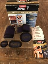 NEW HoMedics Thera P Magnetic Therapy System 10 Piece 29 Magnet Total Body Syste