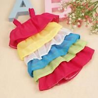 Rainbow Doll Clothes Dress Pajames For 18 inch Our Generation girl