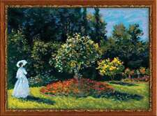 "Cross Stitch Kit RIOLIS 1225 - ""Woman in the Garden"""