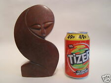 Red Argillite Stone Sculpture Figures Carving Hand Carved in Zimbabwe R#09