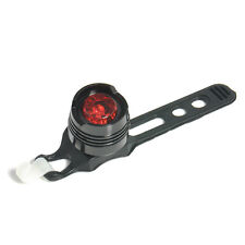 LED Charging Bicycle Red Light Warning Safety Rear Tail Light 3 Modes Lamp