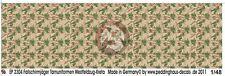 Peddinghaus 1/48 German Fallschirmjäger Paratrooper Camouflage Pattern WWII 2304