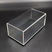 Model Toys Car Display Case Acrylic Boxes Transparent Show Dustproof with Base