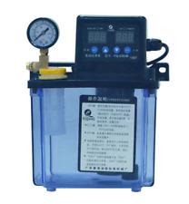 1.5L Dual Digital Display Automatic Lubrication Pump Oiler NC Pump 6mm ONLY 220V