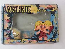 WISHNIK Troll Doll Case IDEAL Toys UNEEDA NOS Flip Clasp Blue