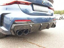Rear Bumper Diffuser for BMW G22 M-SPORT 4-Series PARSAN FORGED CARBON FIBER