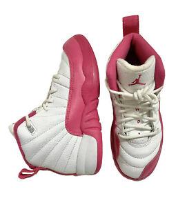 Air Jordan 12's Retro GP Dynamic Pink Preschool Unisex Size 12c