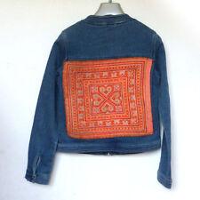 Red denim jacket ebay