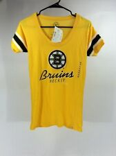 NHL Boston's Bruins Women's Throwback 1924 '47 T-Shirt - Medium