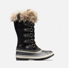 New Sorel Joan of Arctic Women's Waterproof Boots Color Quarry & Black Size 6-10