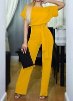Women's Ladies Floral Casual Trousers Sexy Women Overall Pants Jumpsuit Cocktail