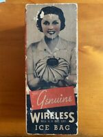 VINTAGE GENUINE WIRELESS ICE BAG W/ ORIGINAL BOX. New
