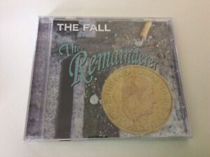THE FALL THE REMAINDERED  CD ALBUM NEW AND SEALED B1.