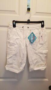 NWT Unionbay Junior's Greyson Convertible Skimmer Shorts, Size XS,