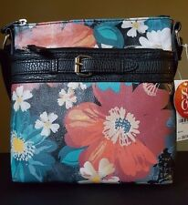 NWT Style and Co Floral Baltic Crossbody Handbag Floral 6 MSRP $52.50