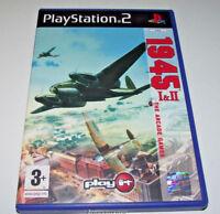 1945 I & II The Arcade Game PS2 PAL *No Manual*