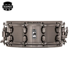 "Mapex BLACK PANTHER Blade 14"" x 5.5"" Steel Snare Drum BPST4551LN Brushed Nickel"