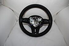Genuine BMW E89 Z4 M Sports leather steering wheel M Tricolor Stitching MFL