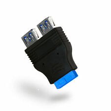 Kingwin KW-2USB3A Dual Port Internal USB3.0 (F) to 20Pin Adapter