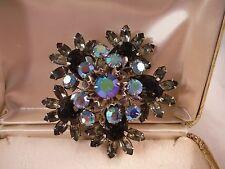 Vintage Juliana Rhinestone Pin Brooch Jewelry Box D