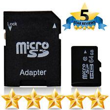 Carte mémoire 64 Go Micro SD Class 10 pour télécommande et appareil photo 64Go