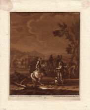 Christian Rugendas Im Zeltlager Mezzotino 1725