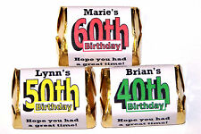 120 BIRTHDAY PARTY FAVORS CANDY WRAPPERS ANY AGE
