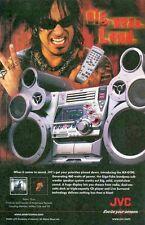 Nikki Sixx, Motley Crue: JVC Big. Mean. Loud: Great Original Photo Print Ad!