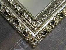 Wandspiegel Spiegel BAROCK Rechteckig ANTIKSILBER Bilderrahmen Ornamenten 1 1