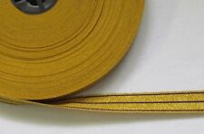 Braid RCMP Colours Gold with 3 Purple Strips 16mm R764