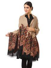 Women's Kashmiri Jamawar Shawl, Jacquard palla, Warm and soft, Faux Pashmina