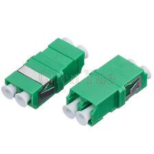 50pcs Fiber LC APC SM Duplex No Ear Fiber Adapter Optical Fiber Connector Flange