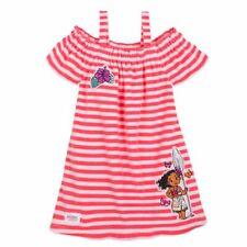Disney Store Moana Princess Pink Swim Cover Up Girls Size 2 3 4 5/6 7/8 9/10 NWT