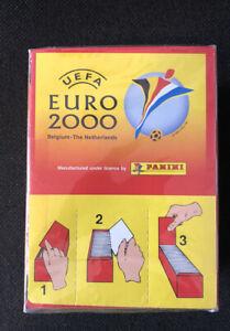 CASE FRESH! EURO 2000 SEALED BOX (100 PACKS) PANINI FOOTBALL SOCCER STICKERS