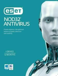 ESET NOD32 Antivirus (Essential Protection), 1 Device 1 Year PC ESD only OEM
