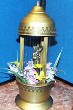Vintage Mid Century Rain Motion Retro Hanging Swag Lamp